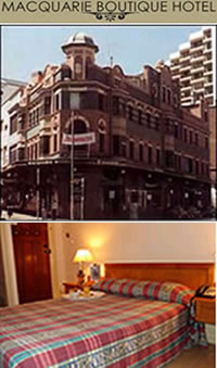 Macquarie Boutique Hotel - Accommodation Brisbane