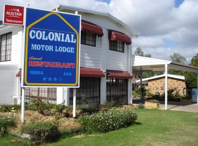 Colonial Motor Lodge - Accommodation Brisbane