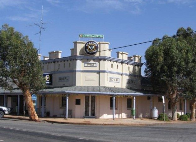 Royal Hotel Grong Grong - Accommodation Brisbane