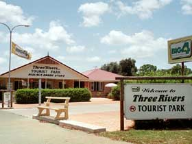 Mundubbera Three Rivers Tourist Park - Accommodation Brisbane
