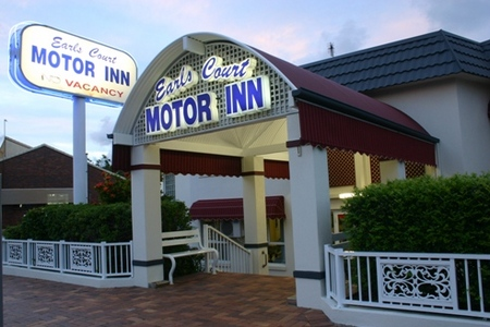Earls Court Motor Inn - Accommodation Brisbane