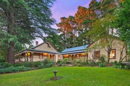 Glen Isla Historic Blue Mountains Accommodation - Accommodation Brisbane