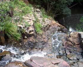 Gypsy Falls Waterfall   Retreat - Accommodation Brisbane