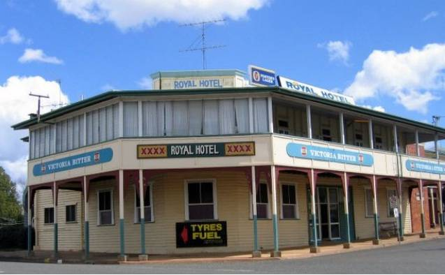 Royal Hotel Mundubbera - Accommodation Brisbane