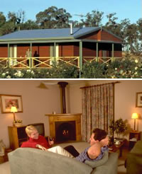Twin Trees Country Cottages - Accommodation Brisbane
