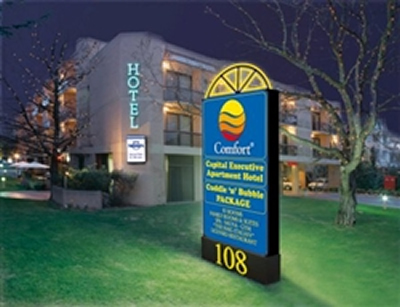 Comfort Capital Executive Apartment Hotel - Accommodation Brisbane