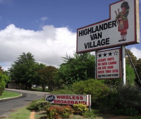 Highlander Van Village - Accommodation Brisbane