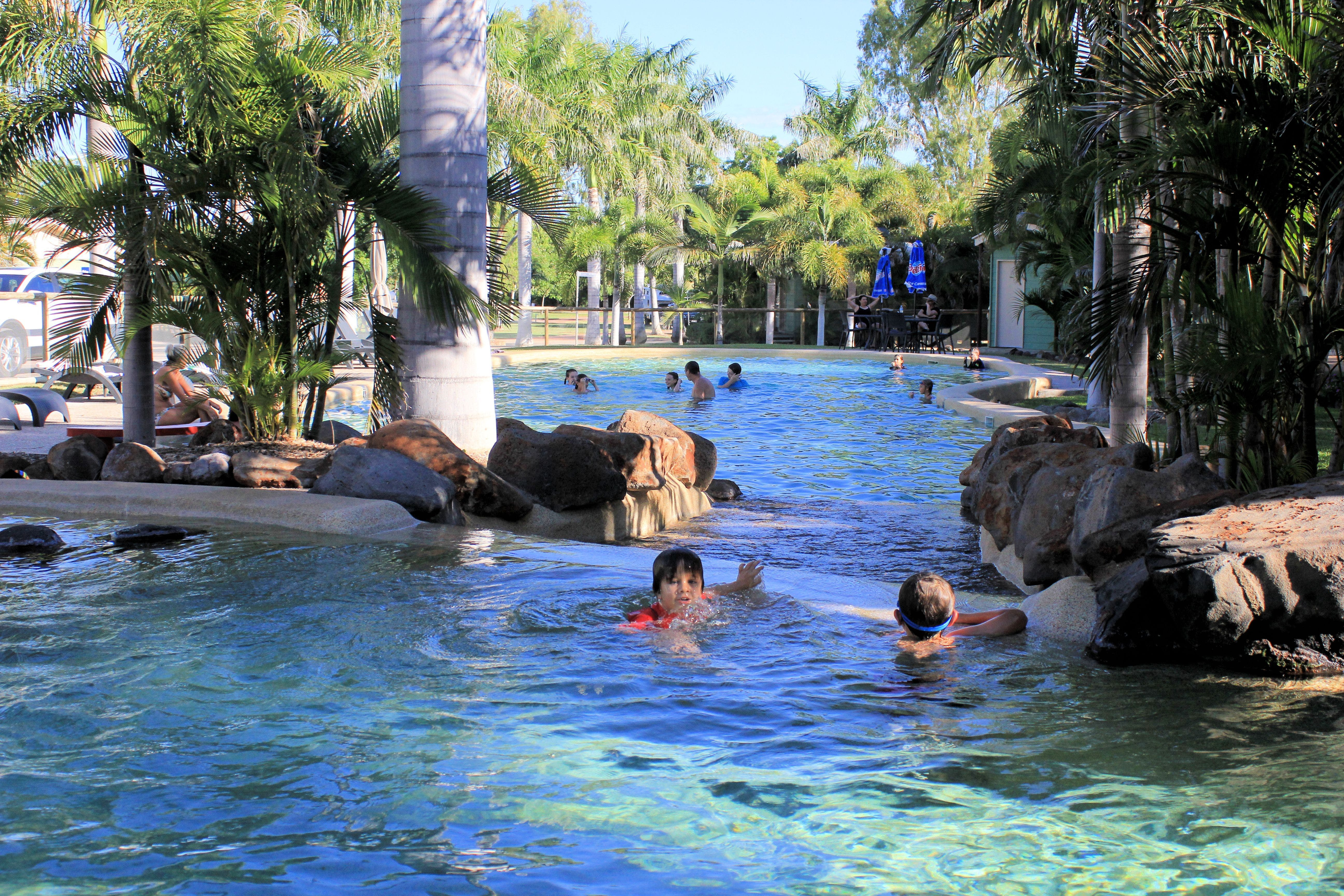 Big4 Aussie Outback Oasis Holiday Park - Accommodation Brisbane