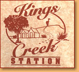 Kings Creek Station - Accommodation Brisbane
