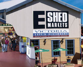 The E Shed Markets - Accommodation Brisbane