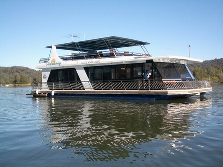 Able Hawkesbury River Houseboats - Accommodation Brisbane