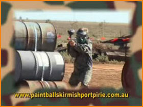 Paint Ball Skirmish Port Pirie