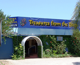 Treasures from the Deep - Opal and Shell Museum - Accommodation Brisbane