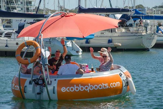 Self-Drive BBQ Boat Hire Mandurah - Group of 7 - 10 people - Accommodation Brisbane