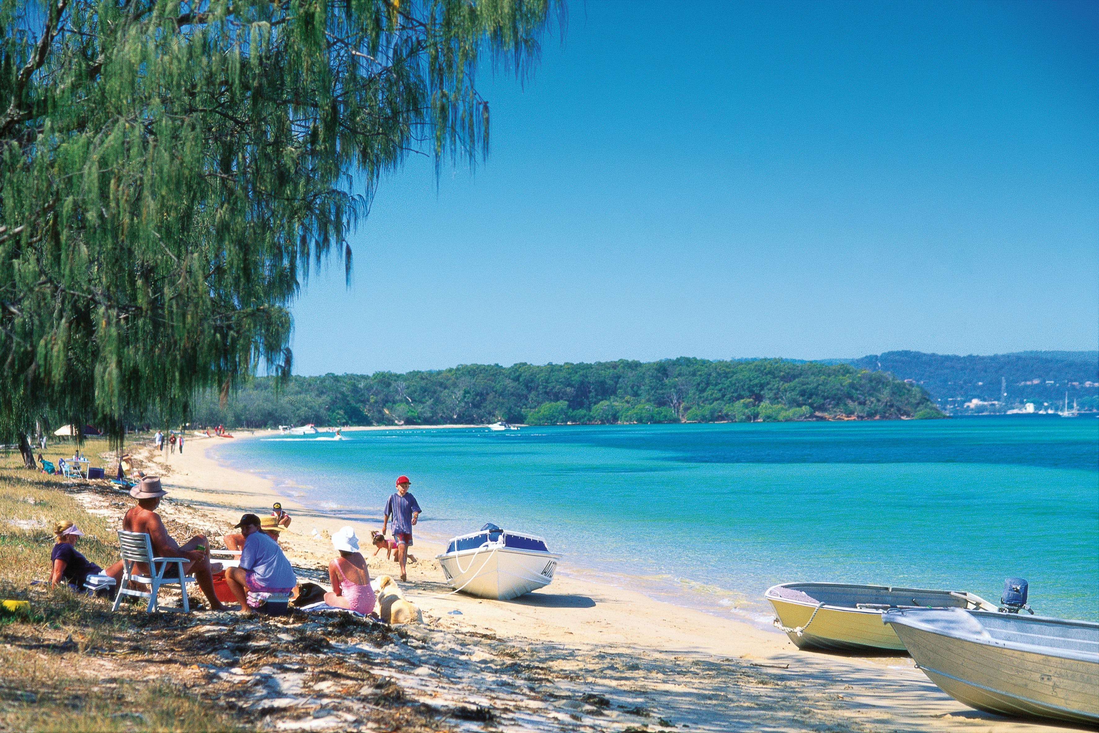 Teerk Roo Ra National Park Peel Island - Accommodation Brisbane