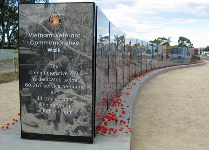 Vietnam Veterans Commemorative Walk - Accommodation Brisbane