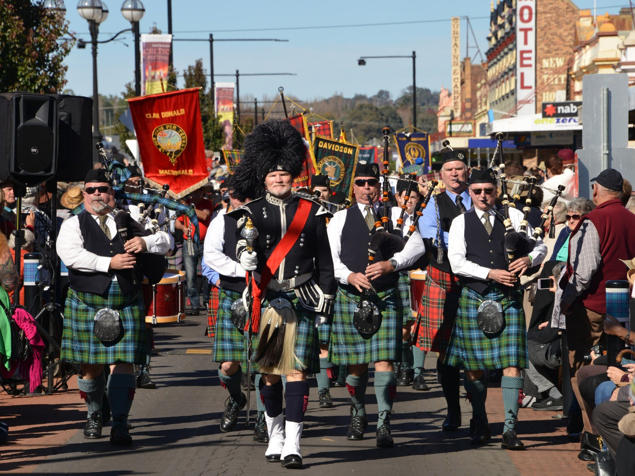 Australian Celtic Festival - Accommodation Brisbane