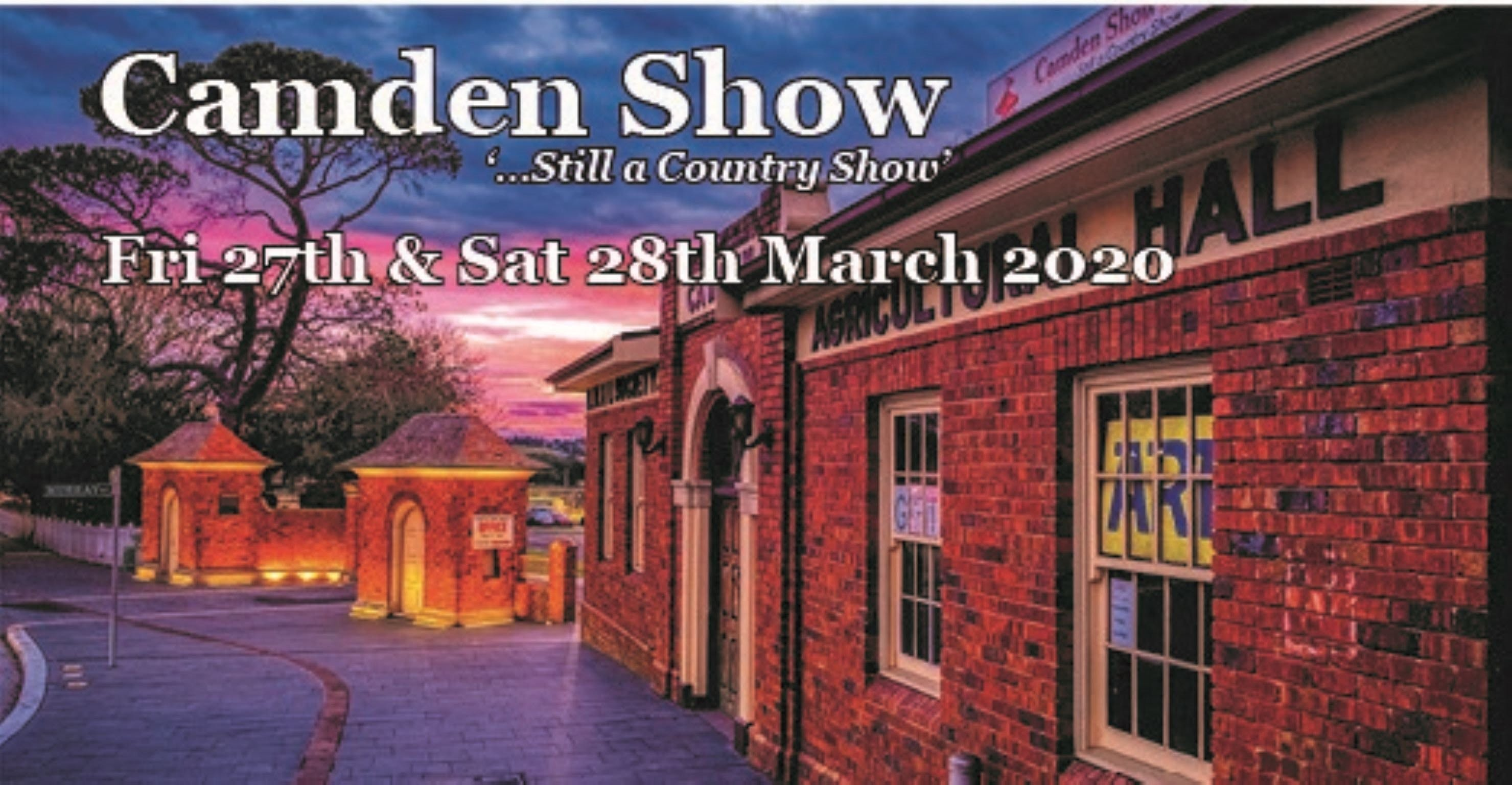 Camden Show - Accommodation Brisbane