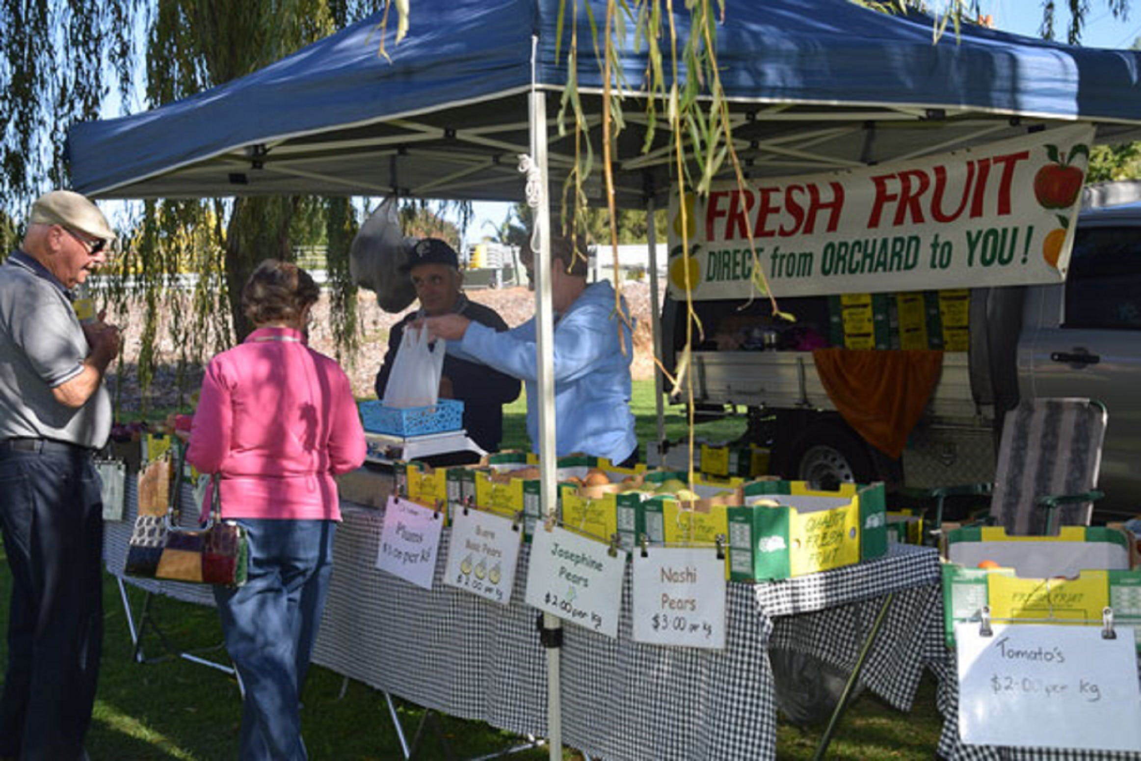 Corowa Rotary Federation Festival Market - Accommodation Brisbane