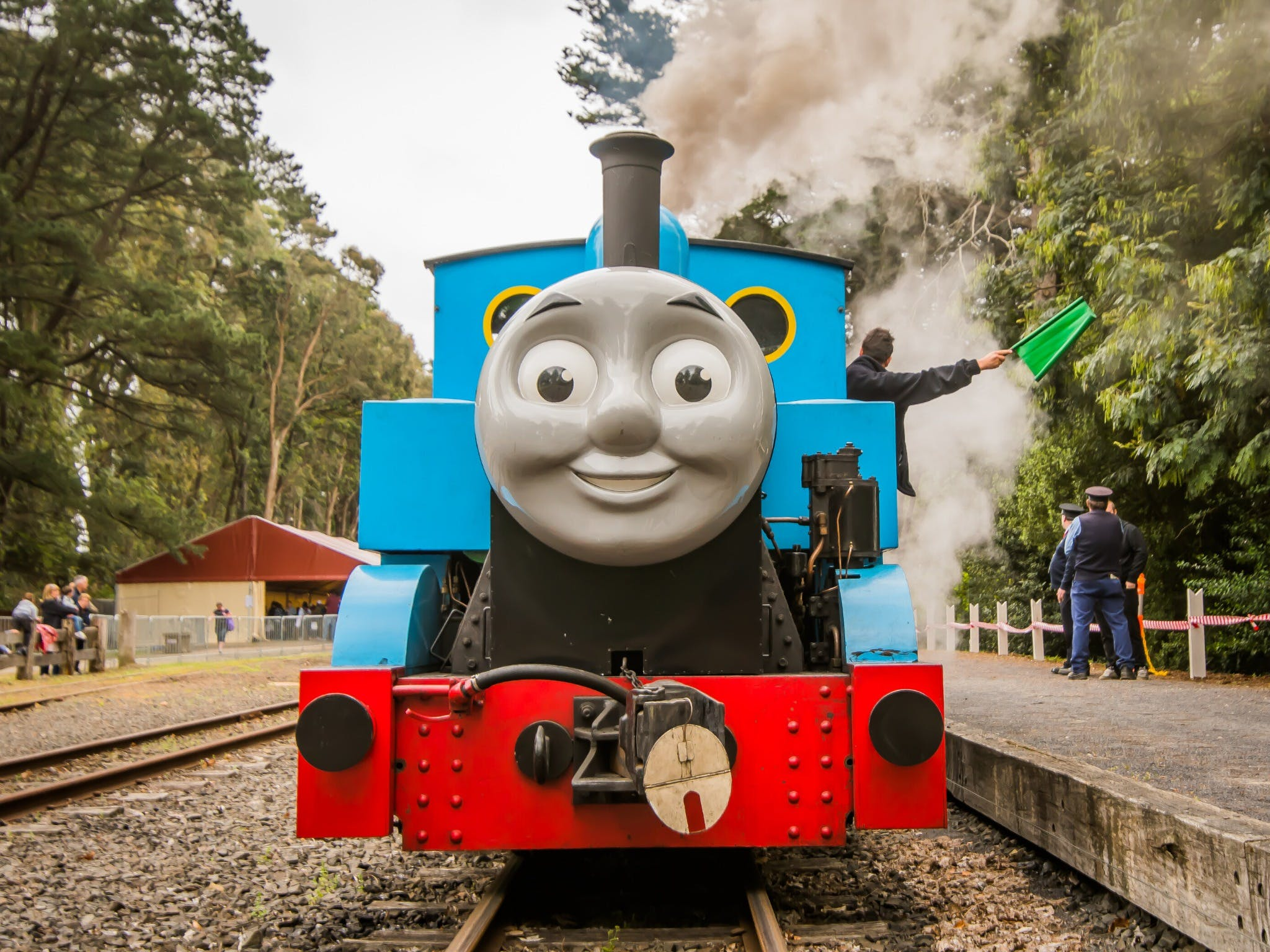 Day out with Thomas at Puffing Billy - Accommodation Brisbane