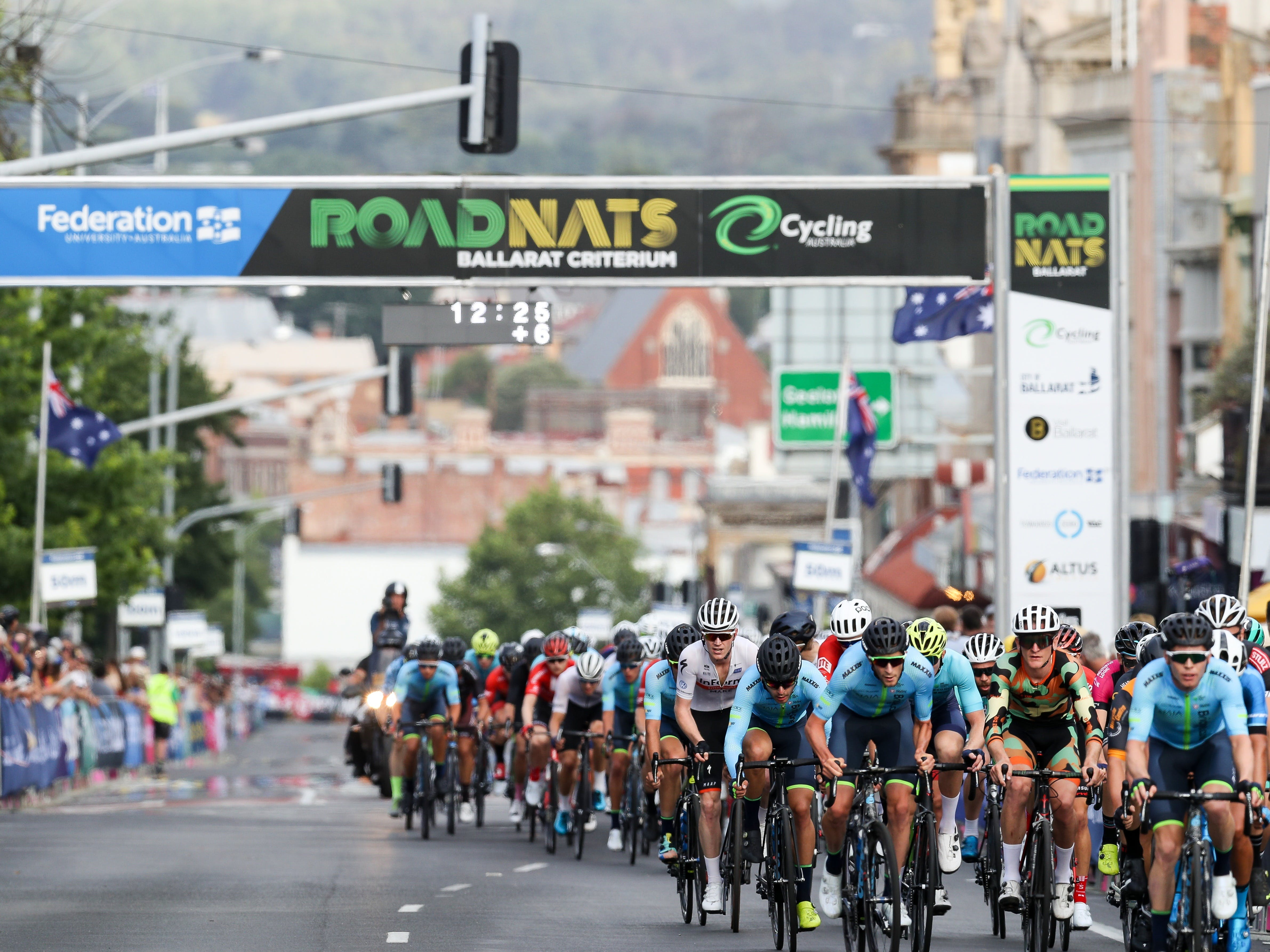 Federation University Criterium National Championships - Ballarat - Accommodation Brisbane
