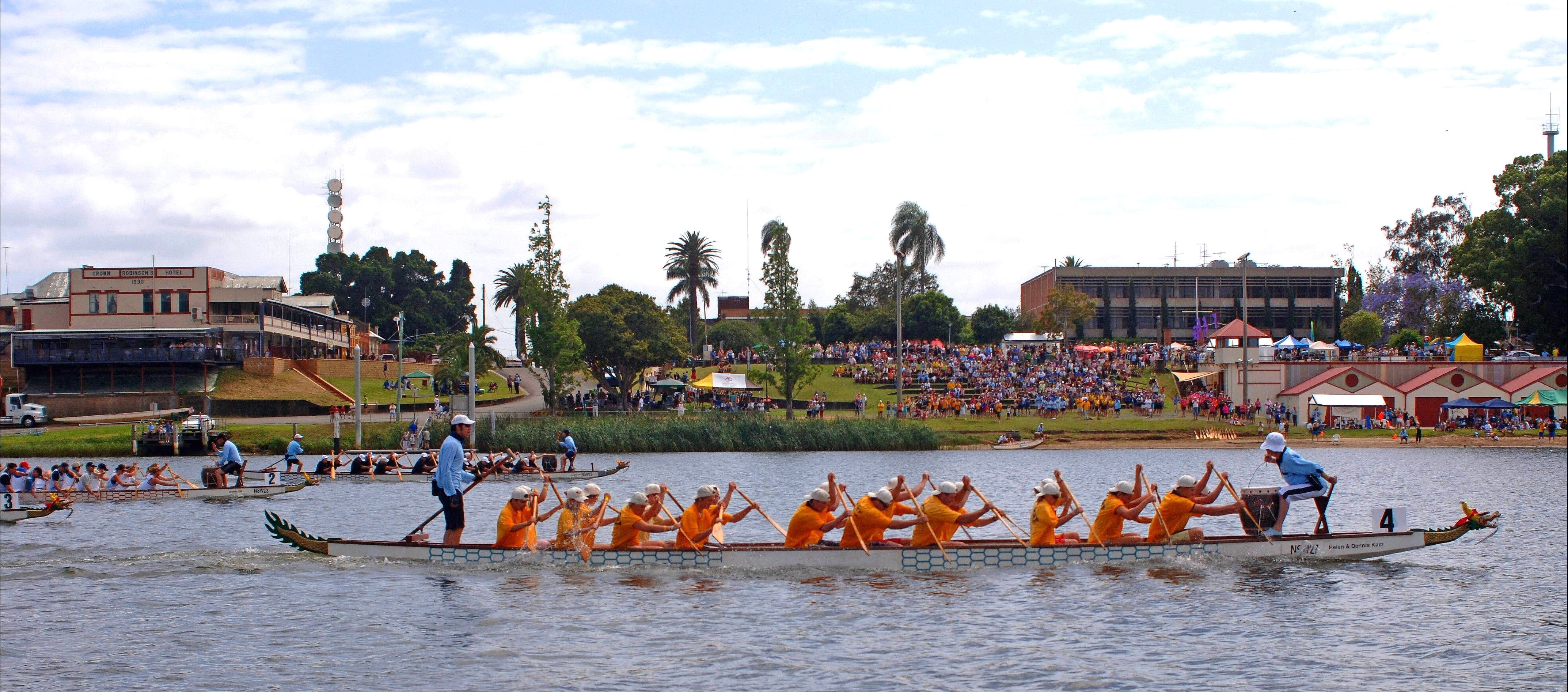 Jacaranda Dragon Boat Races - Accommodation Brisbane