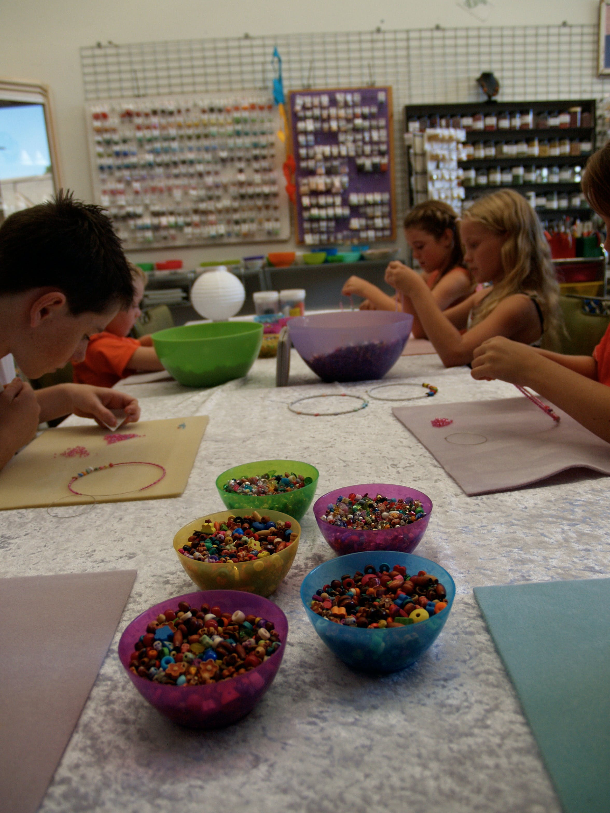 School Holiday One Hour Beading Workshops - Accommodation Brisbane