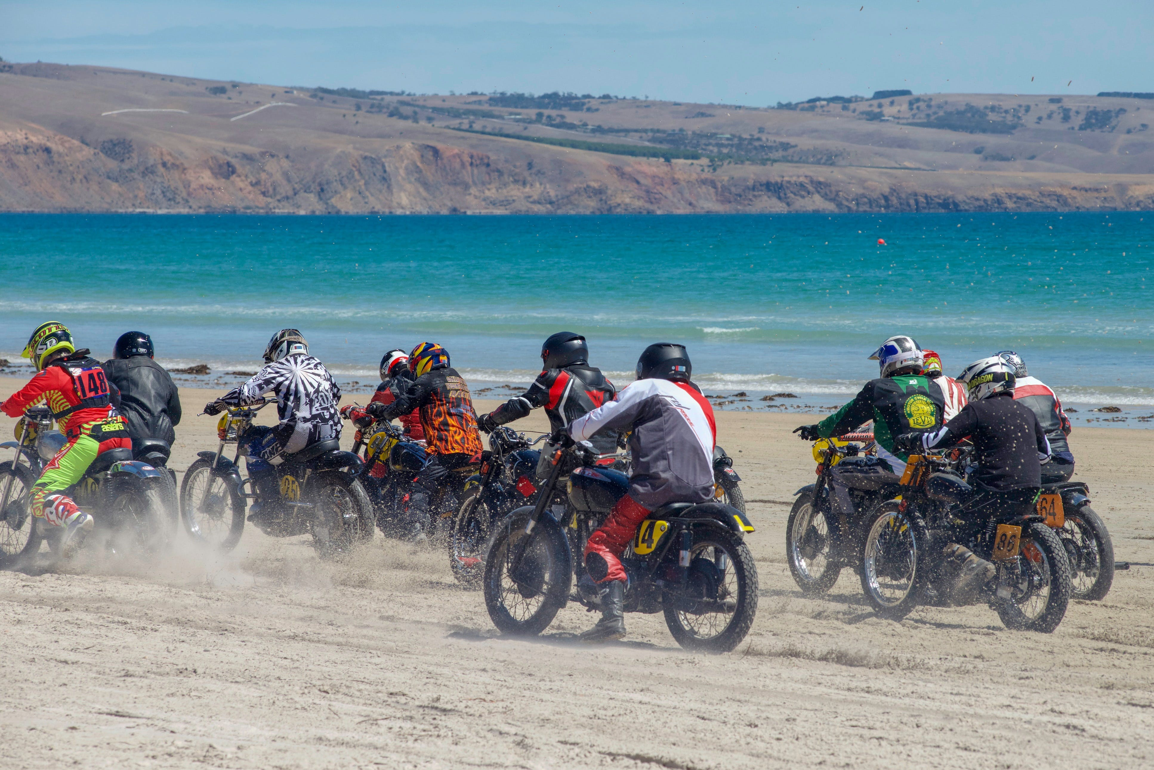 Sellicks Beach Historic Motorcycle Races - Accommodation Brisbane