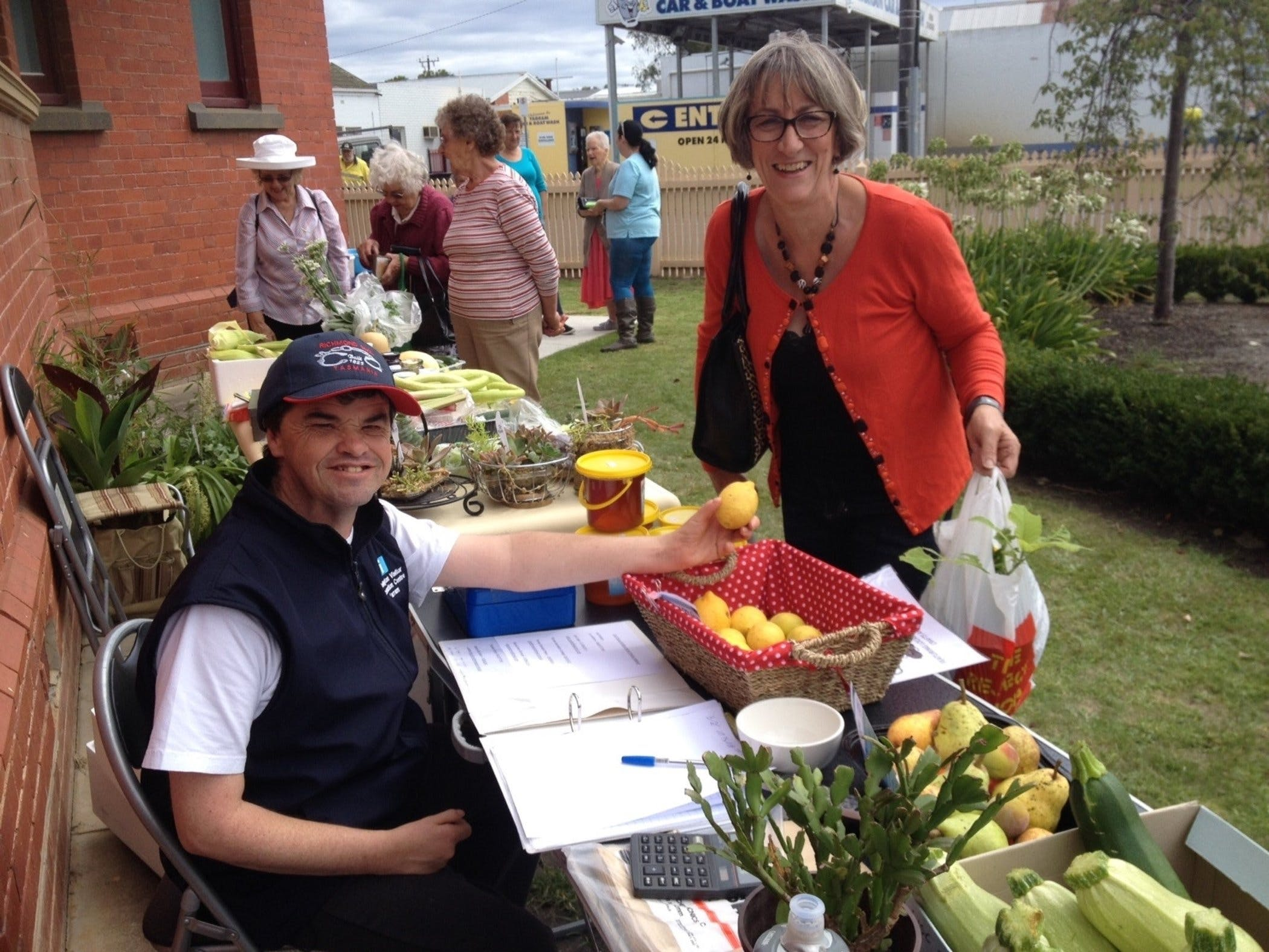 Yarram Courthouse Garden Produce Market - Accommodation Brisbane