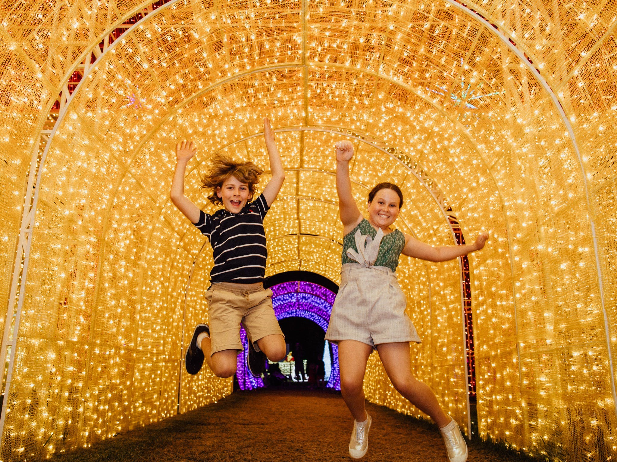Christmas Lights Spectacular New Year's Eve at Hunter Valley Gardens - Accommodation Brisbane