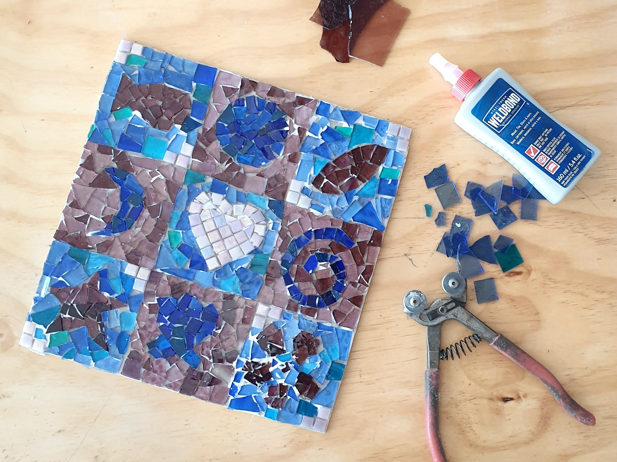 Intro to Mosaics Weekend with Leadlight By Ettore - Accommodation Brisbane