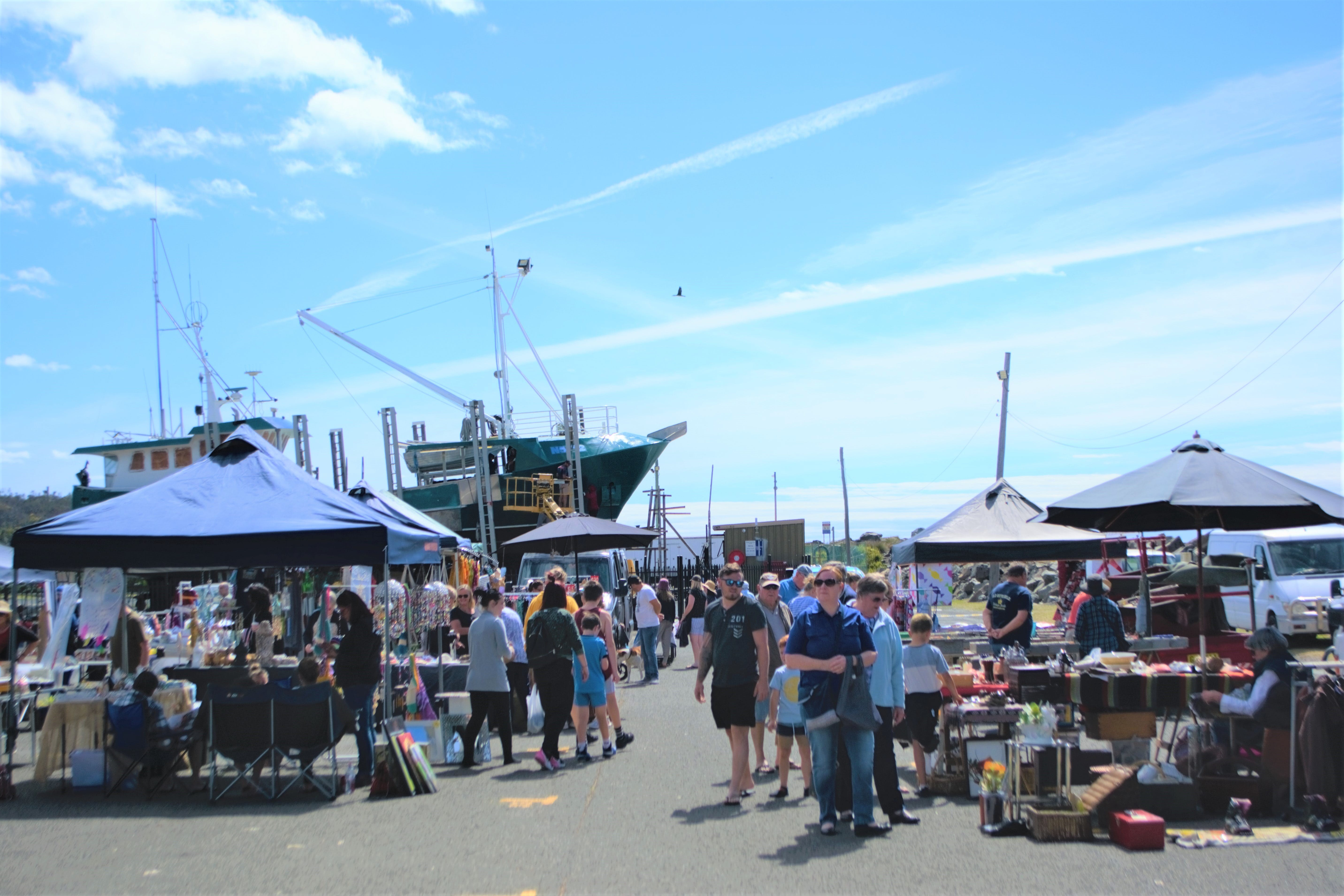 Marine Rescue Ulladulla Wharf Markets - Accommodation Brisbane