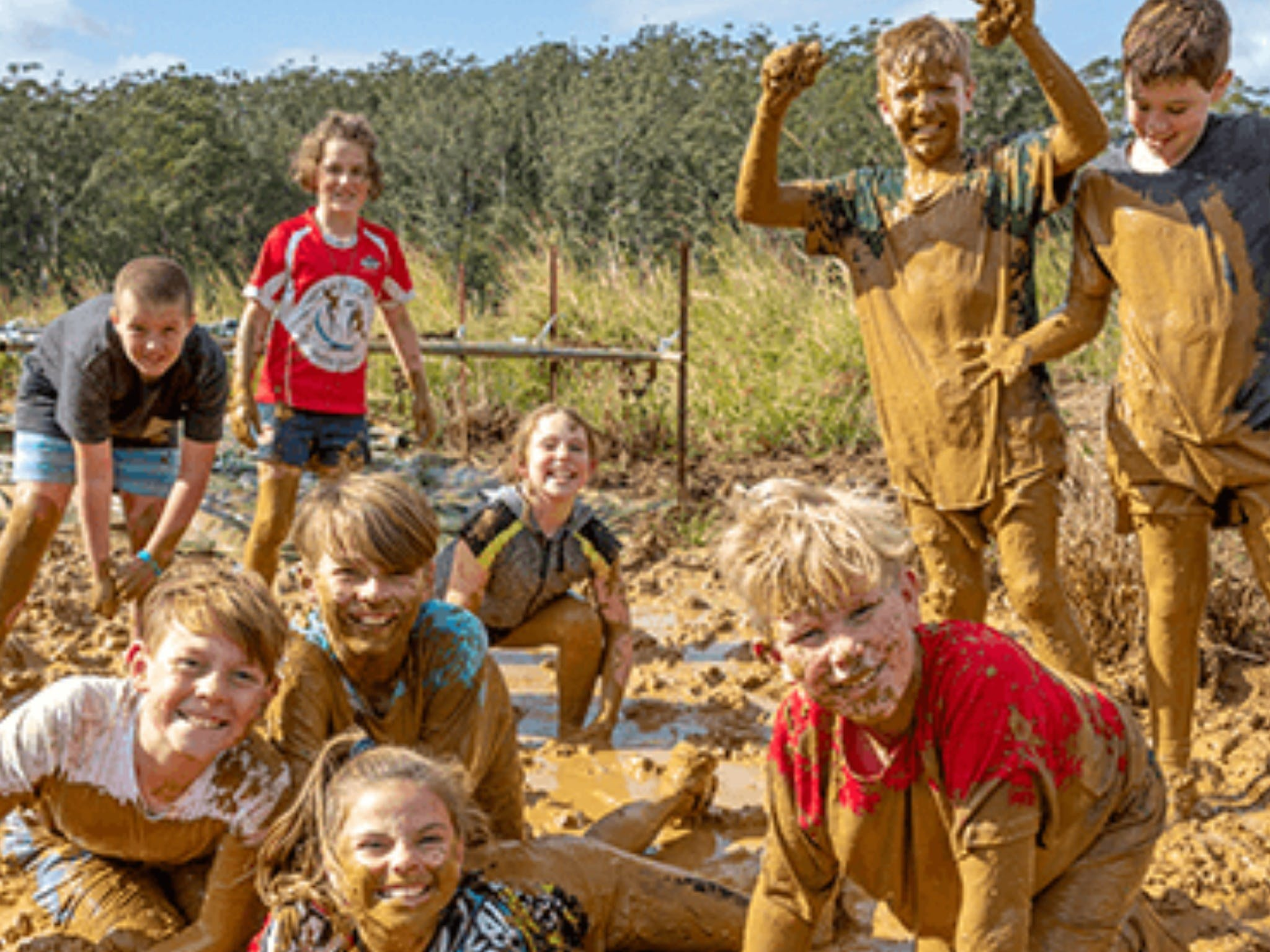 Mini Muddies Obstacle Challenge at Bunnamagoo Estate - Accommodation Brisbane