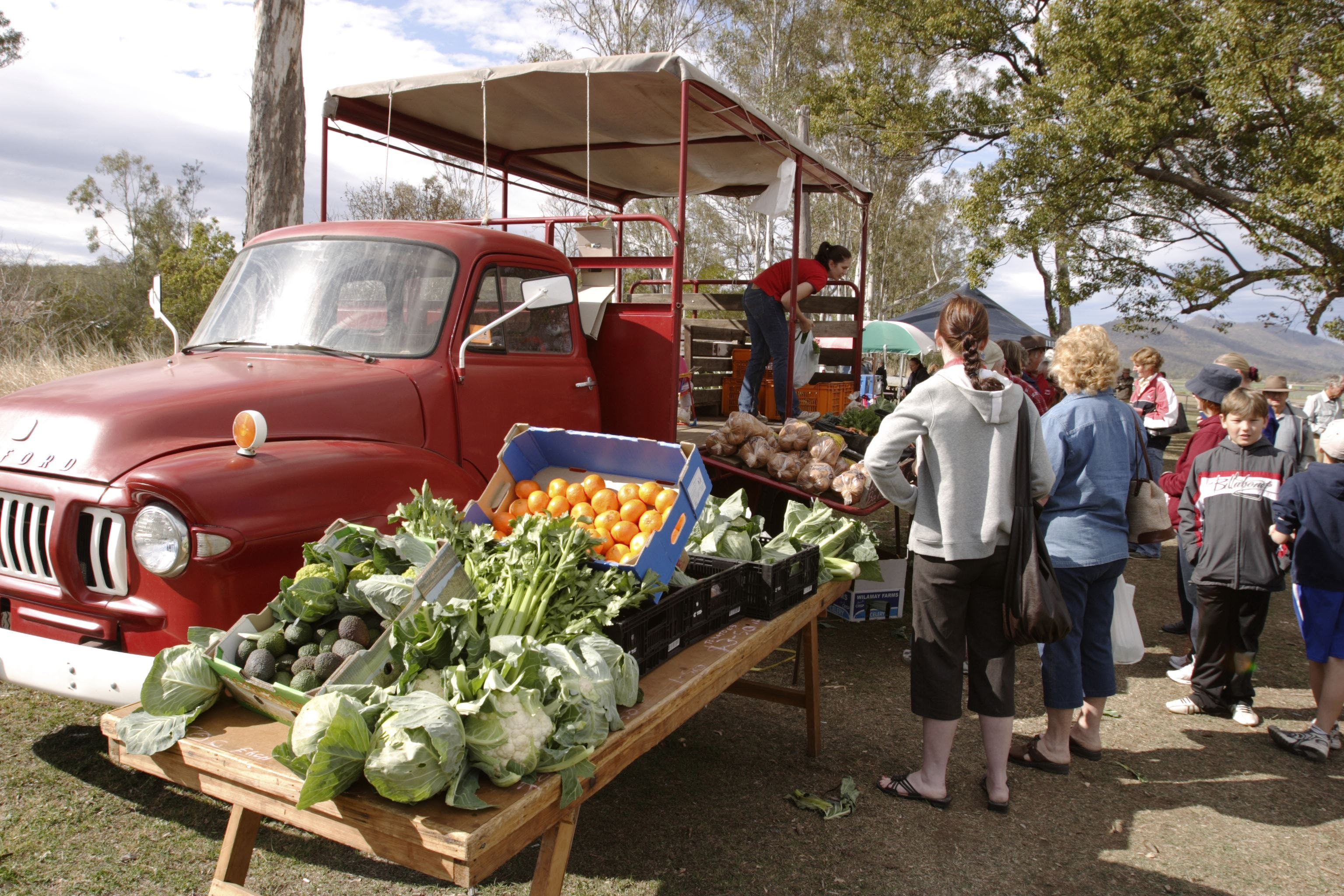 Murphys Creek Markets - Accommodation Brisbane