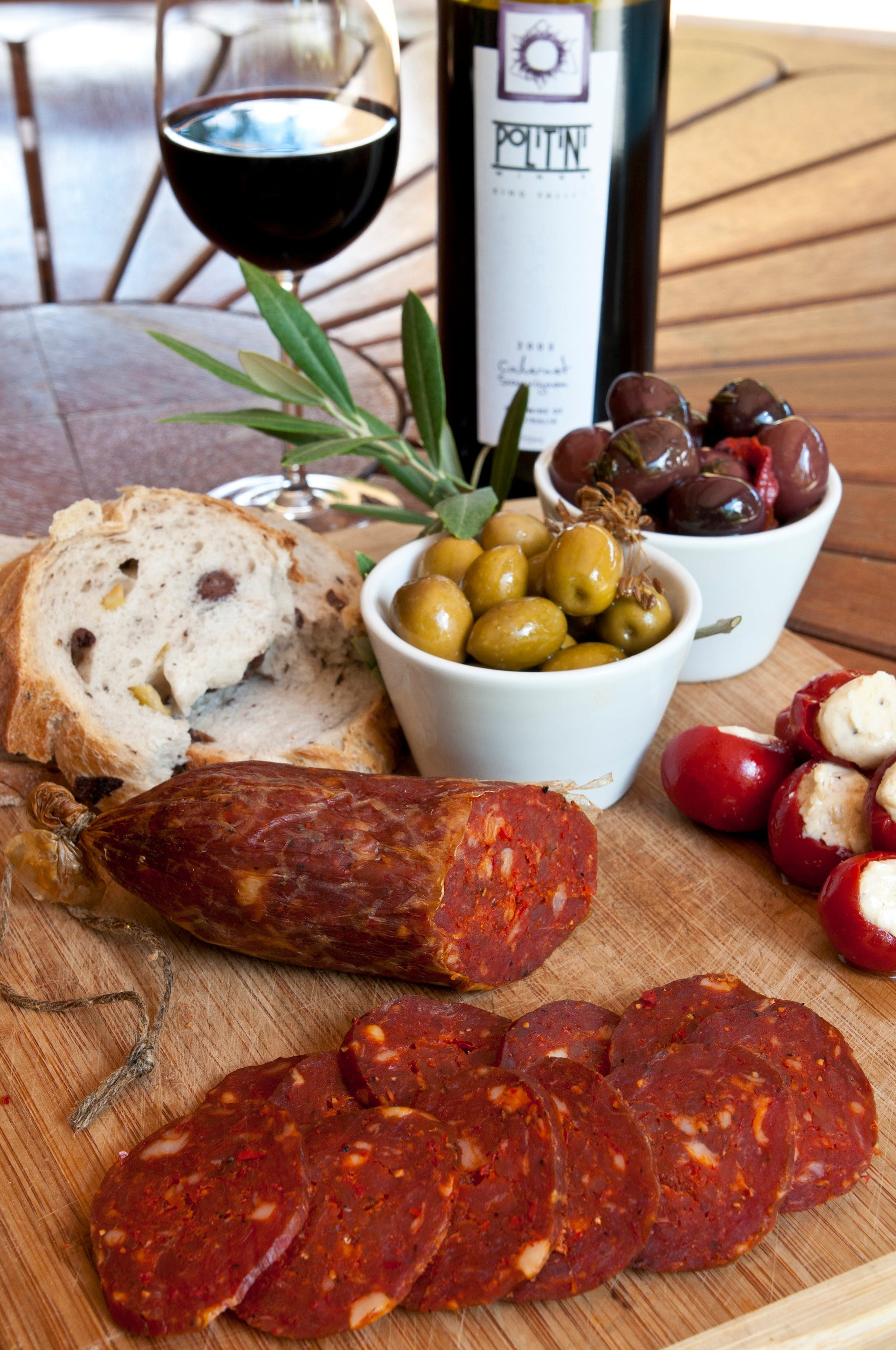 Salami and Salsicce Making classes at Politini Wines - Accommodation Brisbane