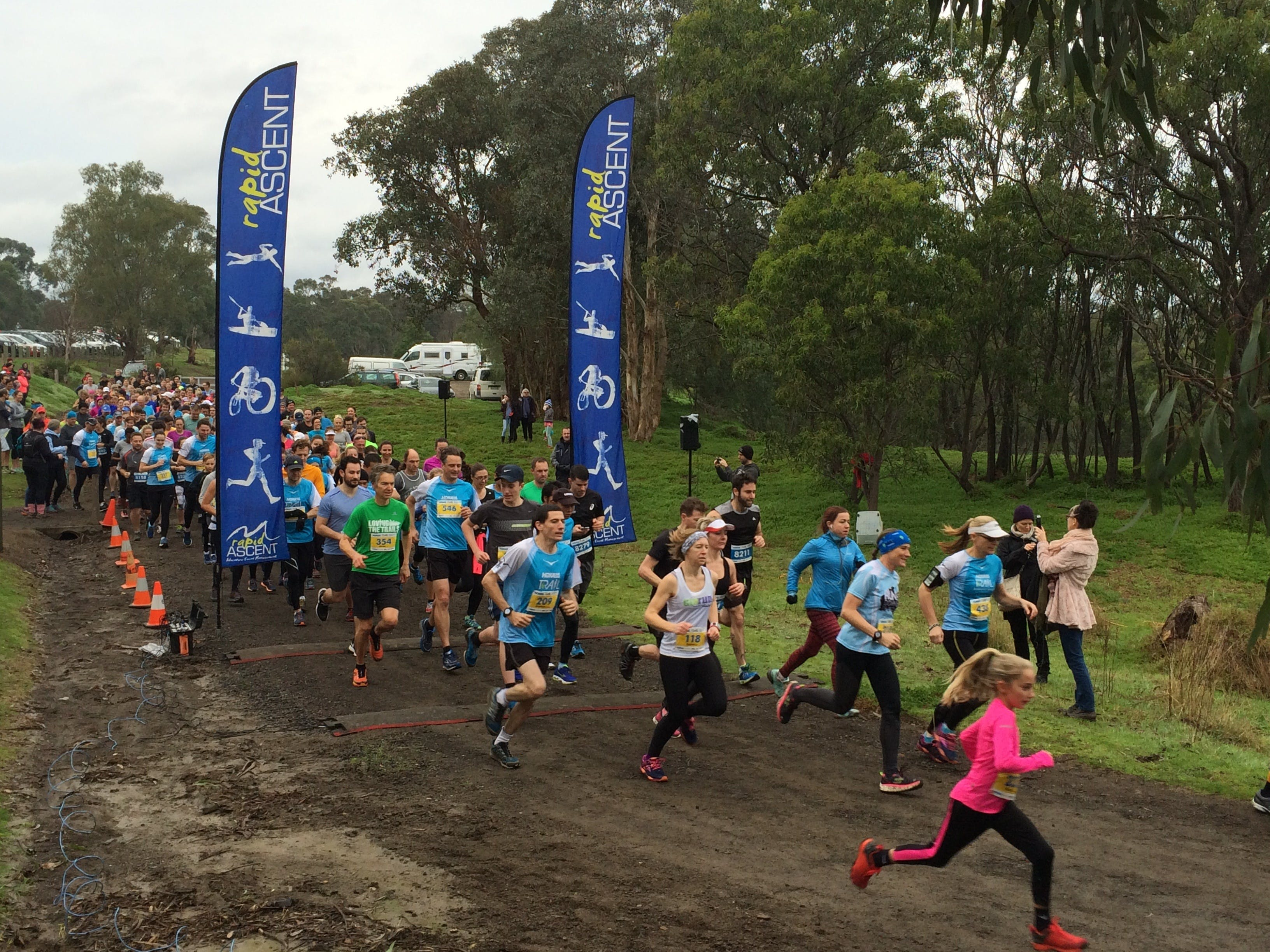 Trail Running Series 5 - Silvan - Accommodation Brisbane