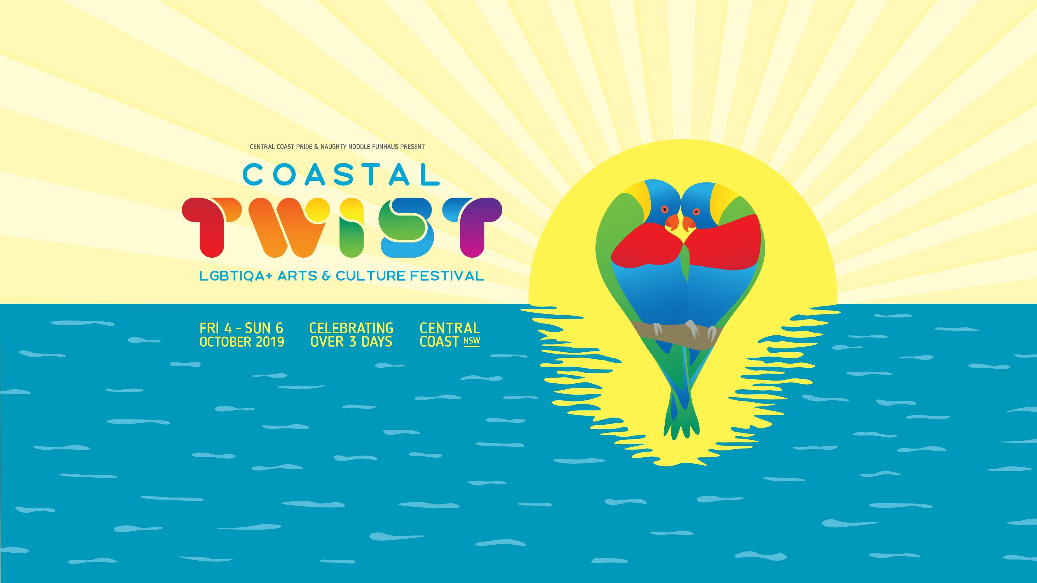 Coastal Twist LGBTIQA Arts and Culture Festival - Accommodation Brisbane