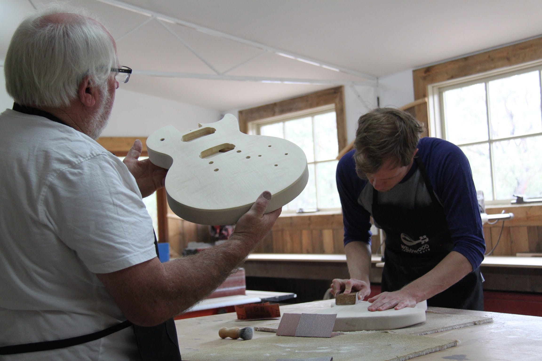 Electric Guitar Making Courses - Accommodation Brisbane