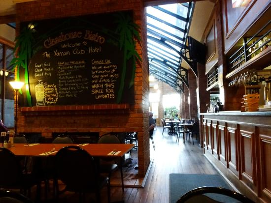 The Glasshouse Bistro - Accommodation Brisbane