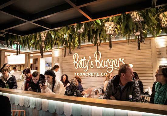 Betty's Burgers  Concrete Co - Accommodation Brisbane