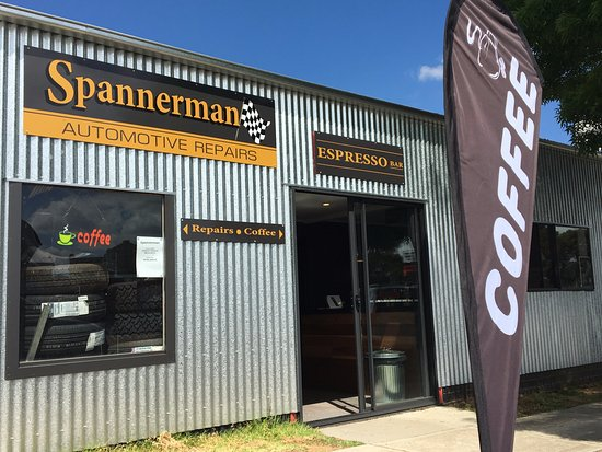 Spannerman Espresso - Accommodation Brisbane