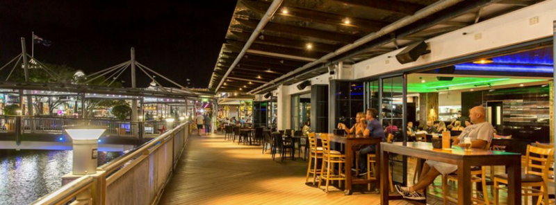 Riverside Bar  Restaurant - Accommodation Brisbane