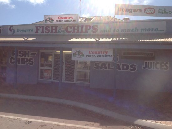 Dongara Fish  Chips - Accommodation Brisbane