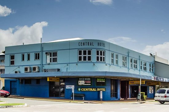 Central Hotel Bowen - Accommodation Brisbane