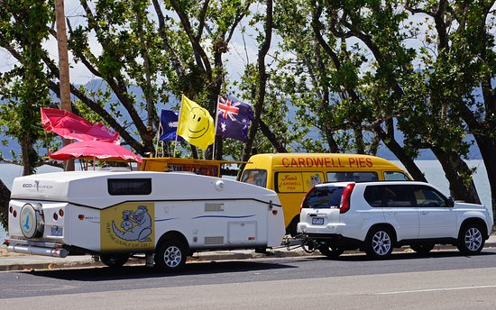 Jessies Cardwell Pies mobile Van - Accommodation Brisbane