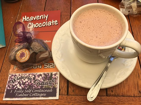 Stanthorpe's Heavenly Chocolate at Wisteria Cottage - Accommodation Brisbane