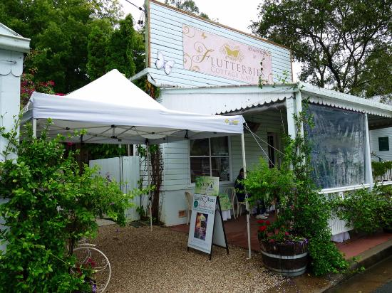 Flutterbies Cottage Cafe - Accommodation Brisbane